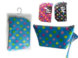 144 Units of Printed Cosmetic Bag - Cosmetic Cases