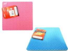 48 Units of Silicone Hot Pad Trivet - Coasters & Trivets