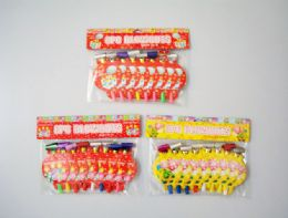 144 Units of 8pc Happy Birthday Blowouts - Party Favors