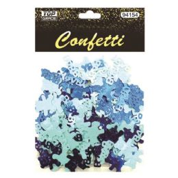 144 Units of Confetti Baby Bear Blue - Baby Shower
