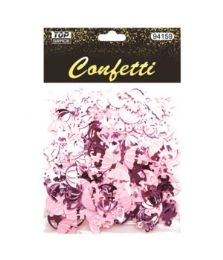 96 Units of Confetti Pony And Umbrellas - Baby Shower