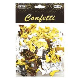 144 Units of Confetti Wedding Gold And Silver - Streamers & Confetti