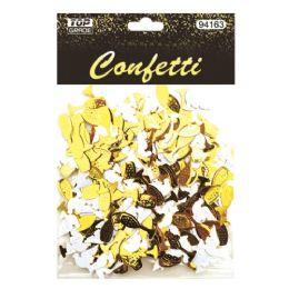 144 Units of Wedding Confetti Pigeon And Wine - Streamers & Confetti