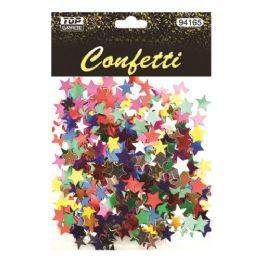 144 Units of Stars Confetti Multi Color - Streamers & Confetti