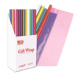 "72 Units of Cello wrap assorted 30x72"" - Gift Wrap"