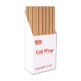 72 Units of Craft Wrapping Paper - Gift Wrap