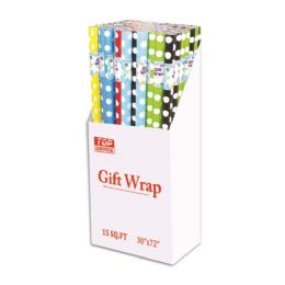 72 Units of Polka dot gift wrap - Gift Wrap