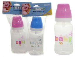 72 Units of Baby Bottles in Assorted Colors- 11 oz - Baby Bottles
