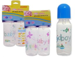 72 Units of 2 Pack 8oz Baby Bottles - Baby Bottles