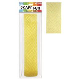 96 Units of Mesh ribbon Yellow - Bows & Ribbons