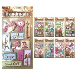 144 Units of Assorted craft sticker - Craft Beads