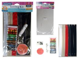 144 Units of 61 Piece Sewing Kit - Sewing Supplies