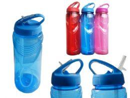 48 Units of Sport Water Bottle - Plastic Drinkware