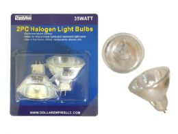 72 Units of 2pc Halogen Light Bulbs - Lightbulbs