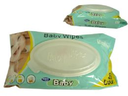 24 Units of 80 Count Baby Wipes With Oval Flip Top Lid - Baby Beauty & Care Items