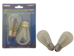 96 Units of Outdoor Light String Light 2pc - Garden Decor