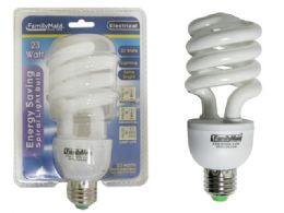 72 Units of 23 Watt Energy Saving Spiral Lightbulb - Lightbulbs