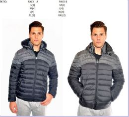 12 Units of Men's fashion Bubble Jacket - Mens Jackets