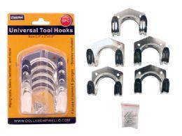 72 Units of 5pc Universal Tool Hooks - Hooks