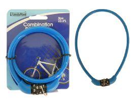 96 Units of Combination Cable Bike Lock - Biking