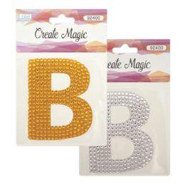 144 Units of Crystal sticker B - Craft Beads