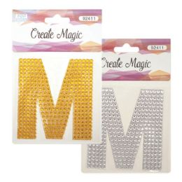 144 Units of Crystal sticker M - Craft Beads