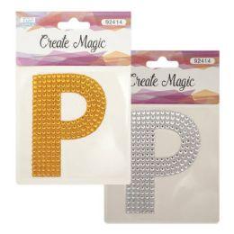 144 Units of Crystal sticker P - Craft Beads