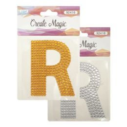 144 Units of Crystal sticker R - Craft Beads