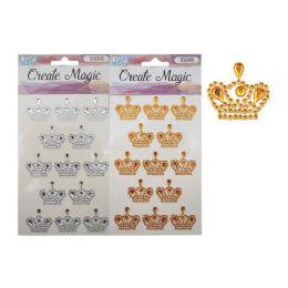 96 Units of Craft Crown Sticker - Stickers