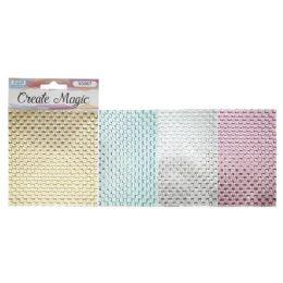 12 Units of Craft Magic Sticker Rhinestone - Stickers