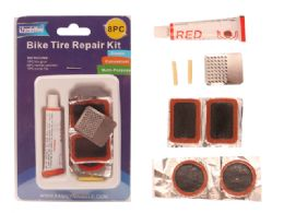 96 Units of 8pc Bike Tire Repair Kit - Biking