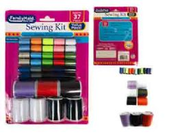 96 Units of 37 Pc Sewing Thread Set - Sewing Supplies