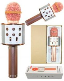 2 Units of KARAOKE MICROPHONE ROSEGOLD - Musical