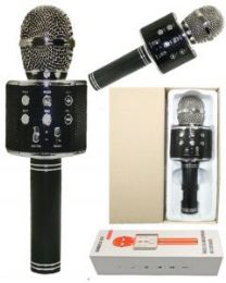 2 Units of KARAOKE MICROPHONE BLACK - Musical