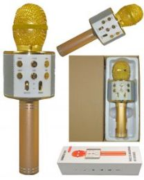 2 Units of Karaoke Microphone Gold - Musical