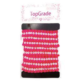 144 Units of Top Grade Hot Pink Trimming - Bows & Ribbons