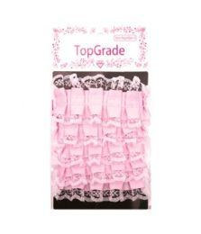 144 Units of Top Grade Baby Pink Trimming - Bows & Ribbons