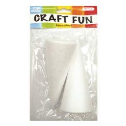 144 Units of Foam COne - Foam & Felt