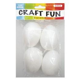 144 Units of Four Count Foam Egg - Foam & Felt