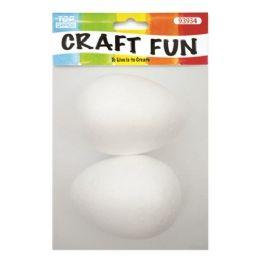 144 Units of Two Count Foam Egg - Foam & Felt