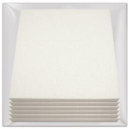 """48 Units of 11.8x11.8x0.98""""foam board - Foam & Felt"""