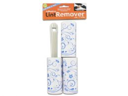72 Units of Lint Remover With Refills Set - Laundry  Supplies