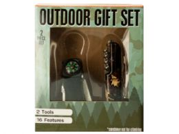 12 Units of Outdoor Multi-Function Tool Gift Set - Cables and Wires