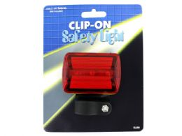 36 Units of Clip-On Bicycle Safety Light - Biking