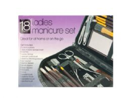 18 Units of Ladies Manicure & Grooming Set - Manicure and Pedicure Items
