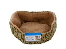 18 Units of Fleece Lined Indoor Pet Bed - Pet Accessories