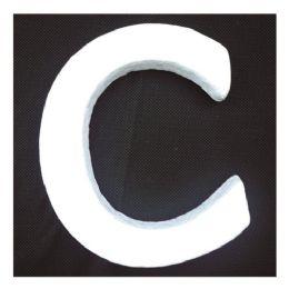 96 Units of Foam Letter C - Foam & Felt