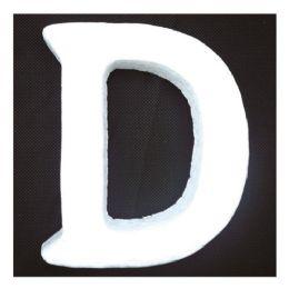 96 Units of Foam Letter D - Foam & Felt