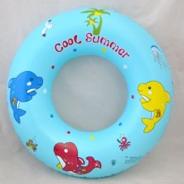 "96 Units of 24"" Swim Ring - Summer Toys"