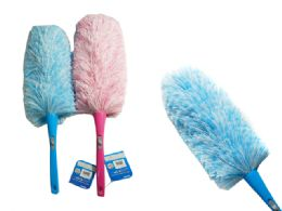 96 Units of Feather Duster W/ Interchangeable Head - Dusters